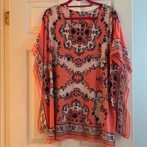 Gorgeous JM Collection tunic top